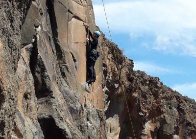 Klettern in Teneriffa