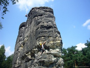 Klettern Mittelgebirge