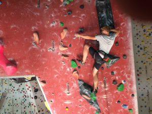 Klettertraining Bergprojekt