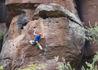 Klettern in der Arico-Schlucht (Bildrechte: Bergprojekt - Markus Fleischmann)